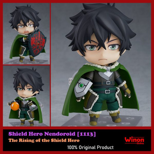 In STOCK Nendoroid The Rising of the Shield Hero Shield Hero 1113 Action Figure